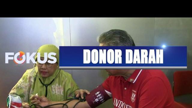 Organisasi FGBMFI menggelar donor darah di 34 provinsi dalam rangka Hari Ulang Tahun ke-74 Republik Indonesia.