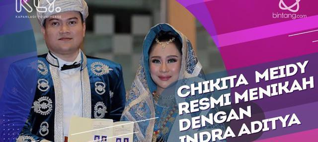 Resmi Jadi Istri Indra Aditya, Ini Arti Mas Kawin yang Diberikan untuk Chikita Meidy