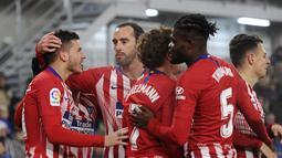 2. Atletico Madrid - 41 poin (AFP/Ander Gillenea)