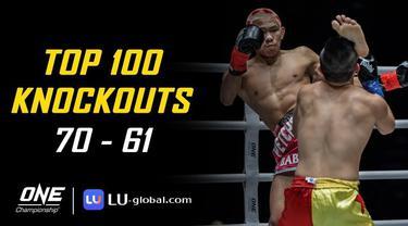 Berita Video Top 100 Knockouts di One Championship, Tendangan Akurat Anthony Engelen Jatuhkan Petarung Kamboja