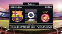 La Liga 2018-2019 Barcelona Vs Girona (Bola.com/Adreanus Titus)