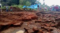 Situs peninggalan pra Majapahit di Desa Sekarpuro, Malang, Jawa Timur, diperkirakan berbentuk kompleks bangunan (Liputan6.com/Zainul Arifin)