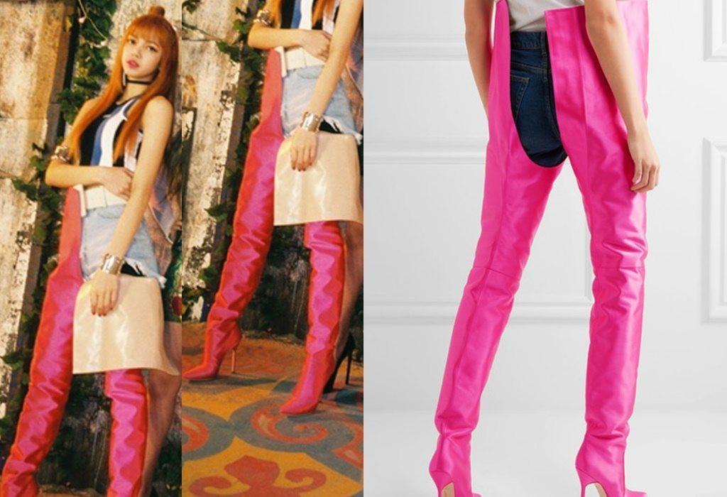 Style Focus Lisa Black Pink Boyish Tapi High Fashion Fashion Fimela Com