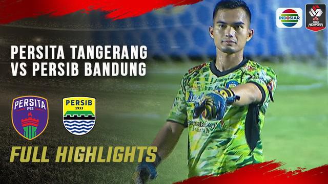 Berita video highlights matchday kedua Grup D Piala Menpora 2021 antara Persita Tangerang melawan Persib Bandung yang berakhir dengan skor 1-3, Senin (29/3/2021) malam hari WIB.