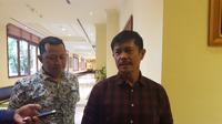 Pelatih Timnas Indonesia U-22, Indra Sjafri, menyebut proses pembentukan timnya akan berbeda dengan Timnas U-19. (Bola.com/Zulfirdaus Harahap)