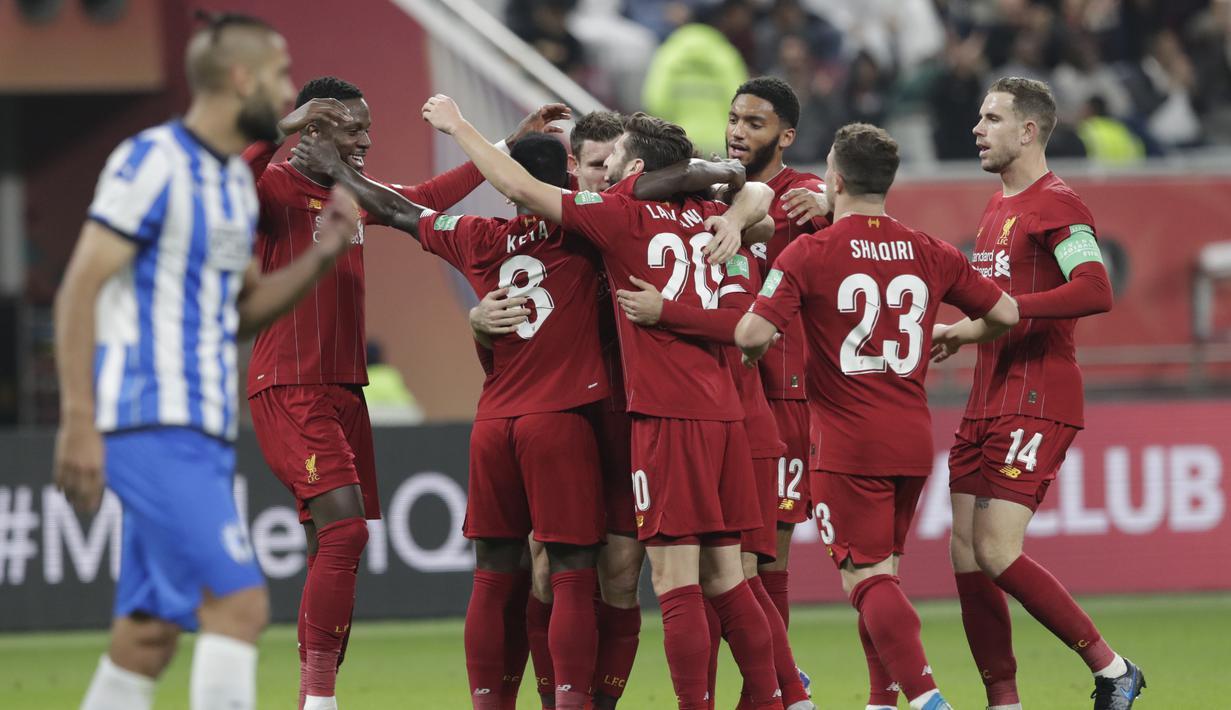 FOTO Bungkam Monterrey Liverpool Melaju Ke Final Piala