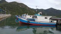 Kapal bantuan Kementerian Kelautan dan Perikanan (KKP) untuk nelayan di Kepulauan Natuna. (Gideon/Liputan6.com)