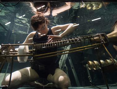Konser dalam Akuarium- Konser Underwater AquaSonic- Between Music-Denmark- AFP-20170421