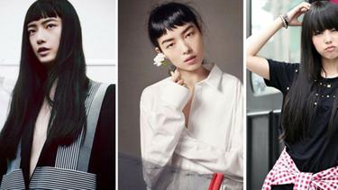 9 Inspirasi Gaya Rambut Panjang Lurus Untuk Wajah Wanita Asia Fimela Fimela Com