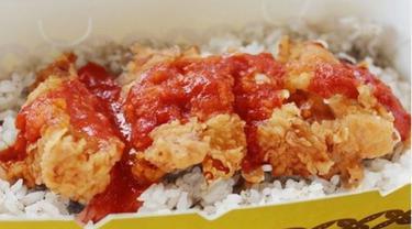 Dampak Corona Covid-19, Restoran Sajikan Menu Nasi Ayam Saos Tolak Angin