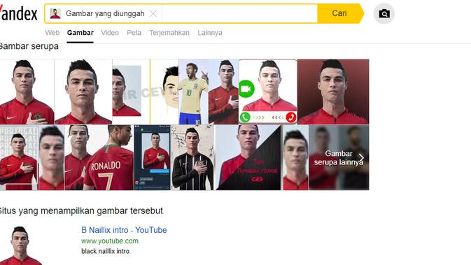 [Cek Fakta] Solidaritas untuk Wartawan Palestina, Ronaldo dan Messi Tutup Mata Kiri? (Yandex.com)
