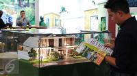 Sejumlah maket perumahan saat pameran Indonesia Properti Expo 2016 di Senayan, Jakarta, Rabu  (17/2). (Liputan6.com/Angga Yuniar)