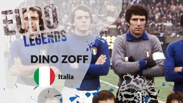 Berita motion grafis profil legenda Dino Zoff, kiper legendaris tak tergantikan di Italia.