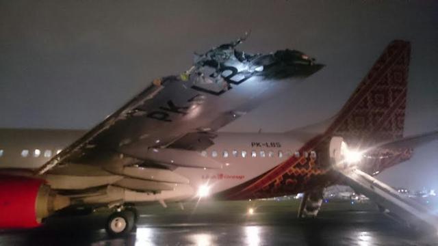 Selain Batik Air Ini 6 Insiden Mendebarkan Pesawat Grup