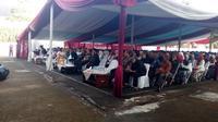 Acara halalbihalal lebaran ASN Pemda Garut (Liputan6.com/Jayadi Supriadin)