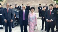 PM Malaysia Mahathir Mohamad dan istri, Siti Hasmah (Facebook/Kelab Che Det)