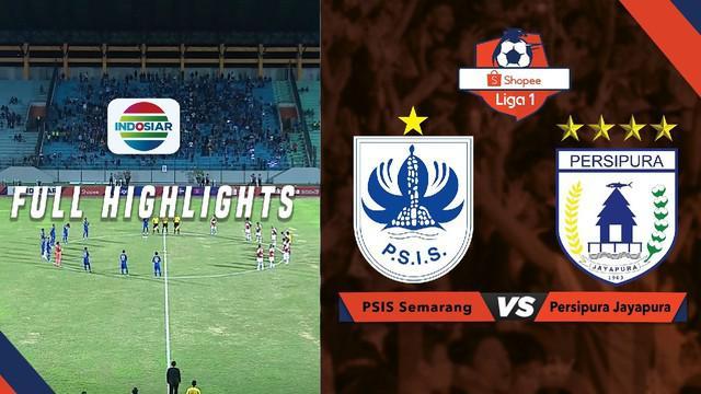 Highlights Shopee Liga 1 2019, Persipura Jayapura kalahkan PSIS Semarang 3-1.