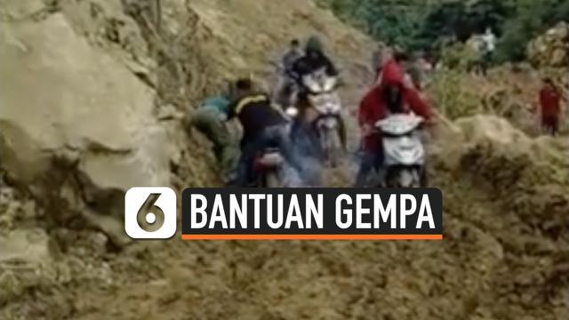 bantuan gempa  sulbar thumbnail