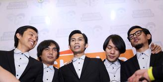 The Changcuters didapuk menjadi brand ambassador Rumah Zakat dalam program Superqurban. Tujuan grup asal Bandung tersebut, untuk menggaet generasi muda untuk berkurban. (Nurwahyunan/Bintang.com)