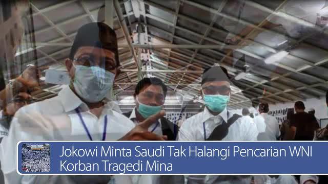 Daily TopNews hari ini akan menyajikan berita seputar Jokowi yang meminta Saudi untuk tidak menghalangi pencarian WNI korban tragedi Mina. Seperti apa berita lengkapnya? Simak dalam video berikut.