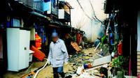 Bencana gempa Hanshin di Jepang. Source: Wikimedia