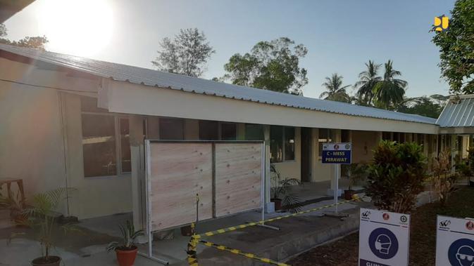 Pembangunan Rumah Sakit Corona Covid-19 di Pulau Galang