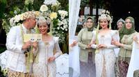 Potret Akad Nikah Yura Yunita dan Donne Maulana. (Sumber: Instagram/ayungberinda)