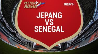 Berita video data dan statistik laga ketat Jepang kontra Senegal di Grup H Piala Dunia 2018.