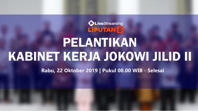 Pelantikan Menteri Jilid II Jokowi