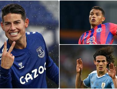James Rodriguez dan 5 Rekrutan Gratis di Liga Inggris
