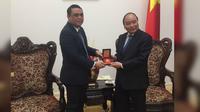 Wakapolri Syafruddin berkunjung ke Vietnam (Yusron Fahmi/Liputan6.com)