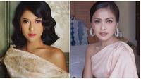 Beda gaya Dian Sastro dan Rania Putrisari (Sumber: Instagram/raniaps/therealdisastr)