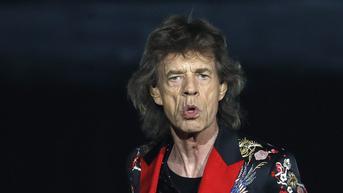 Pacar Mick Jagger Pamerkan Wajah Anak Balita Sang Rocker, Warganet: Mirip Bapaknya