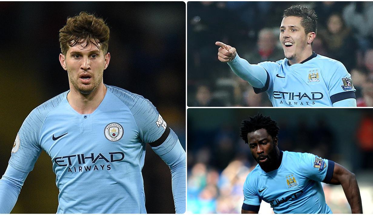 Manchester City dikenal dengan kemampuan finansial mereka dalam mendatangkan pemain bintang di bursa transfer. Namun, tidak semua pemain yang didatangkan menunjukan performa memuaskan saat berseragam Manchester City. Berikut 5 pembelian terburuk Manchester City. (kolase foto AFP)