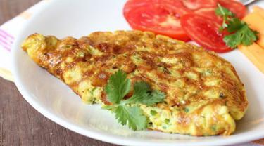 Resep Sederhana Omelet Sayur Keju Enak Banget Lifestyle Fimela Com
