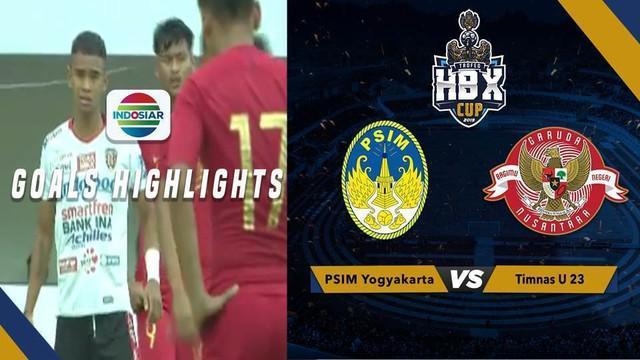 Berita video momen gol Timnas Indonesia U-23 saat menaklukkan Bali United 1-0 di Trofeo Hamengkubuwono X Cup 2019, Minggu (8/9/2019).