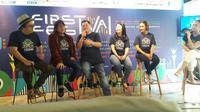 Jumpa Pers First Festival 2020. foto: istimewa