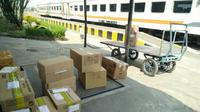PT KAI Daop 8 Surabaya beri diskon tarif untuk angkutan barang hantaran (Foto: Dok PT KAI Daop 8 Surabaya)