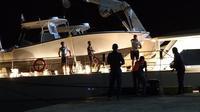 Harga yacht mewah Emir Qatar ditaksir mencapai USD 1 miliar, setara Rp13,6 triliun. (Liputan6.com/ Ola Keda)