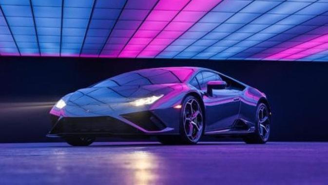 Lamborghini Huracan EVO RWD. (Omaze)