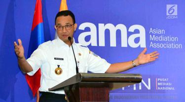 Anies Baswedan Buka Konferensi Asian Mediation Association