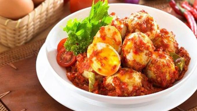 Resep Praktis Telur Bumbu Bali Super Lezat - Lifestyle