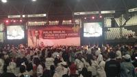 Halal Bihalal Forum Relawan Jokowi. (Merdeka.com)