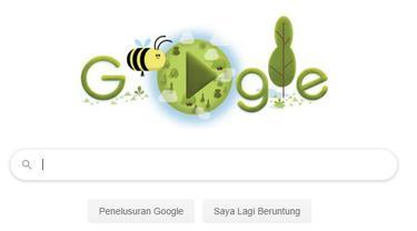 Google Doodle Rayakan Hari Bumi ke-50
