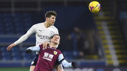 Pada laga tersebut Manchester City memang mendominasi jalannya pertandingan dengan penguasaan bola mencapai 74,5 persen. (Gareth Copley/Pool via AP)