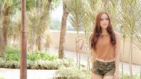 Setelah heboh dengan kabar itu, Rere Regina merilis single terbarunya berjudul 'Ayang' [foto: YouTube]