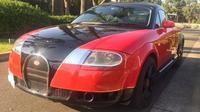 Modifikasi Nyeleneh Bugatti Veyron dengan Basis Audi TT (Autoevolution)