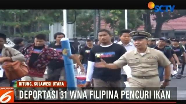 Pemulangan WNA ini difasilitasi Pejabat Konsulat Jenderal Filipina yang berkedudukan di Manado.