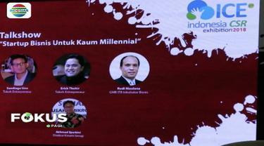 Sandiaga Uno ajak kaum milenial tekankan kolaborasi bangun ekonomi agar Indonesia ojoloyo.