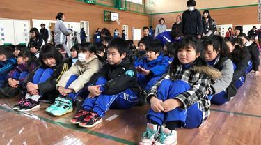 Perdana, Jepang Gelar Latihan Evakuasi Serangan Rudal Korut